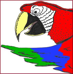 Parrot prof