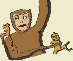 monkey babysit