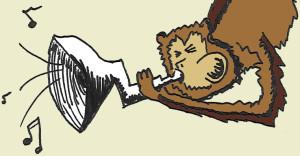 monkey trumpet